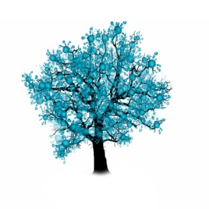 50419374 - tree silhouette isolated on white background