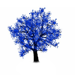 50419346 - tree silhouette isolated on white background