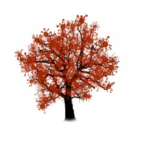 50419377 - tree silhouette isolated on white background