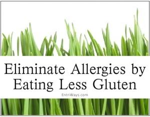 banner ad, eat less gluten
