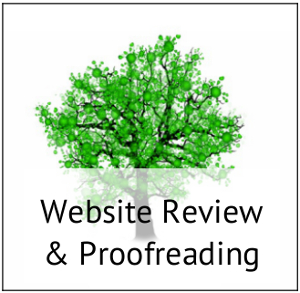 Website Review & Proofreading
