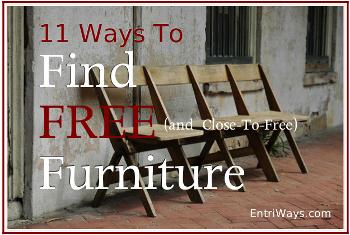 11 Ways to Find Free Furniture ebook