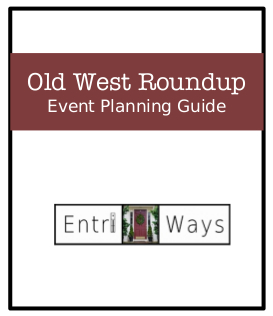 Old West Roundup Event Planning Guide ebook