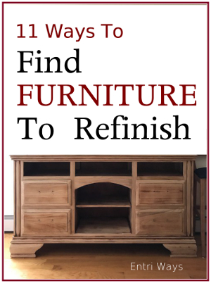 11 Ways to Find Furniture to Refinish COVER 300x